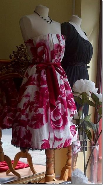 Rose dress @ Nadines.im